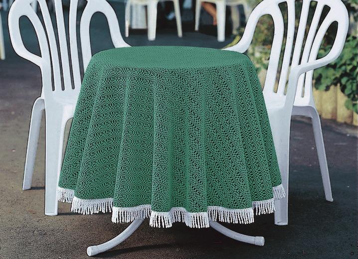gartentischdecke in verschiedenen farben tischdecken brigitte salzburg. Black Bedroom Furniture Sets. Home Design Ideas