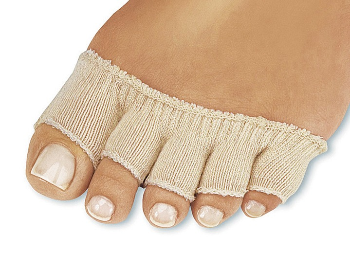 Bandagen - Stretch-Zehensocken-Set, in Farbe BEIGE