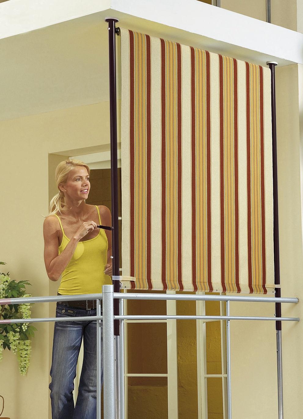 balkon seitensichtschutz sichtschutz und sonnenschutz brigitte salzburg. Black Bedroom Furniture Sets. Home Design Ideas