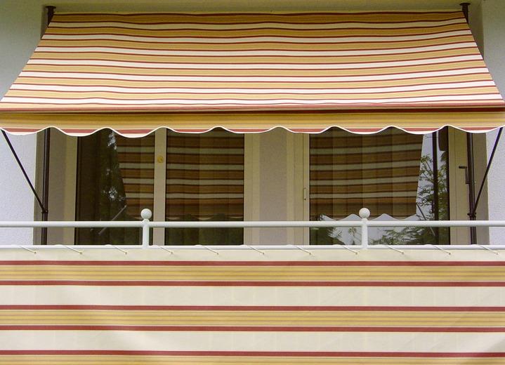 Balkonbespannung In Verschiedenen Farben