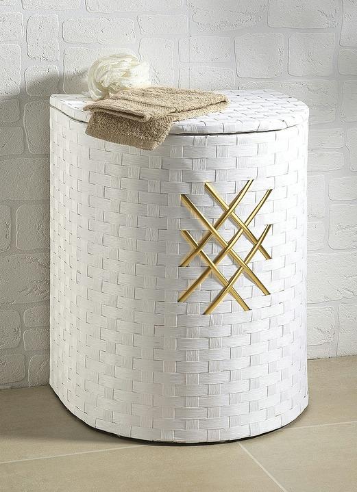 Wäschekorb in verschiedenen Ausführungen - Badezimmer | Brigitte ...