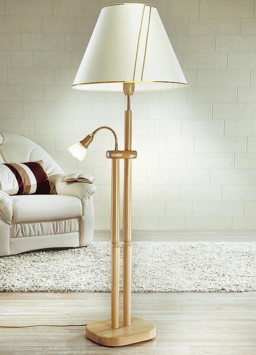 stehleuchte mit leselampe verschiedene farben lampen leuchten brigitte salzburg. Black Bedroom Furniture Sets. Home Design Ideas