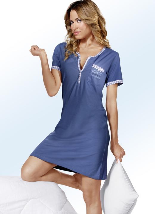 new style 071c5 14258 Zweierpack Nachthemden, Kurzarm mit Knopfleiste