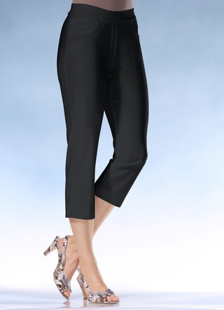 Soft-Stretch-Caprihose
