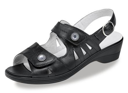 Sandalette in 4 Farben mit herausnehmbarem Lederfußbett, Weite H ... 54a87bbec8