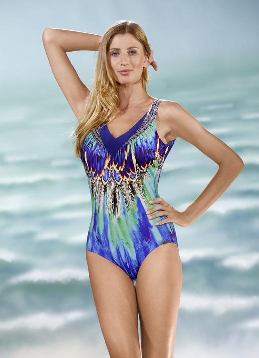 Für Original auswählen zeitloses Design niedriger Preis Sunflair Badeanzug mit Halbkorsage und platziertem Druckdessin