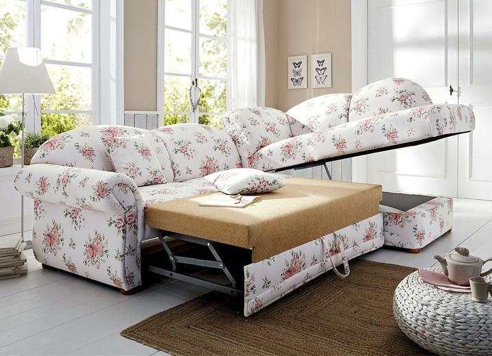 polsterecke in l form mit bettfunktion und bettkasten wohnzimmer brigitte salzburg. Black Bedroom Furniture Sets. Home Design Ideas