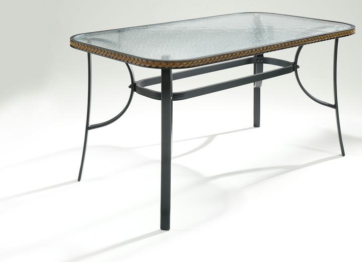 gartentisch romana in verschiedenen farben gartenm bel brigitte salzburg. Black Bedroom Furniture Sets. Home Design Ideas