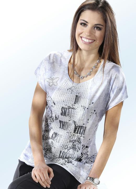 shirt mit netz besatz damen brigitte salzburg. Black Bedroom Furniture Sets. Home Design Ideas