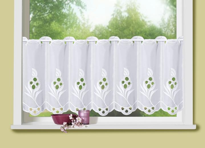 kurzstore mit echter plauener stickerei gardinen brigitte salzburg. Black Bedroom Furniture Sets. Home Design Ideas