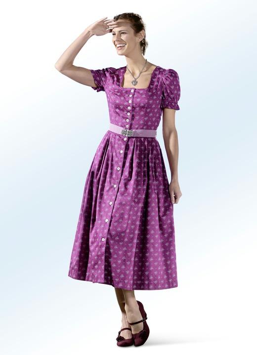 1d842b2b70 Dirndl & Trachten - Landhauskleid mit Schmuckknopfleiste, in Größe 018 bis  054, in Farbe