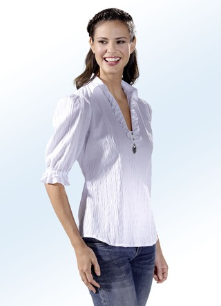Bluse mit Metall-Applikation