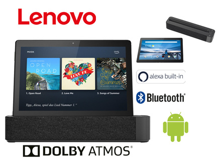 Lenovo Smart Tab M10 Tablet-PC mit Ladestation
