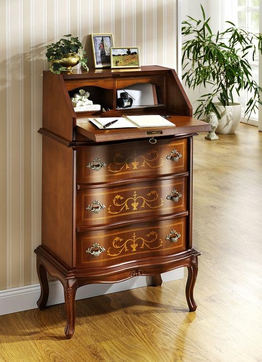 sekret r mit hochwertigen intarsienverzierungen b rom bel brigitte salzburg. Black Bedroom Furniture Sets. Home Design Ideas
