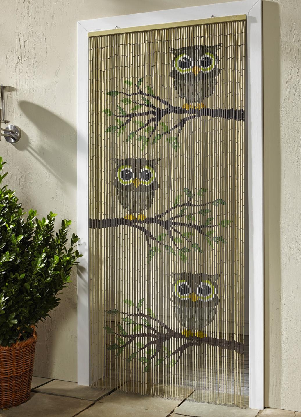 bambus vorhang eulen sichtschutz und sonnenschutz brigitte salzburg. Black Bedroom Furniture Sets. Home Design Ideas