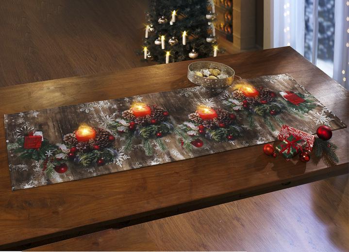 sch fer tischdekoration mit led beleuchtung tischdecken brigitte salzburg. Black Bedroom Furniture Sets. Home Design Ideas